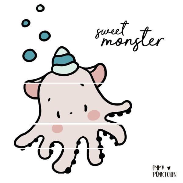 emmapünktchen ® - sweet monster