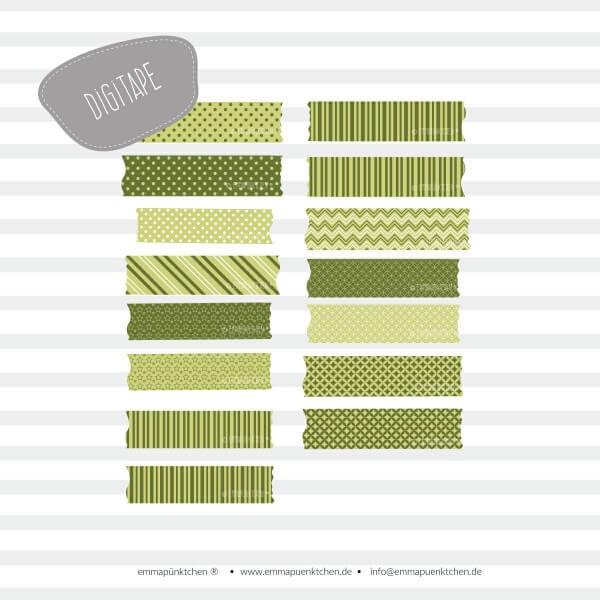 emmapünktchen ® - DigiTape grün