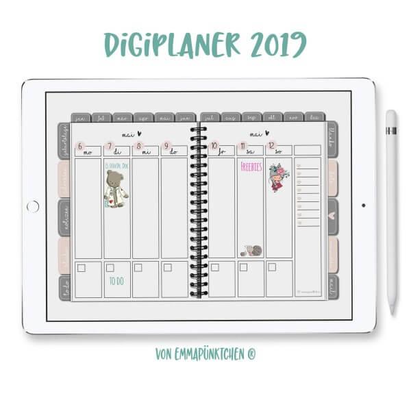 emmapünktchen ® - DigiPlaner 2019