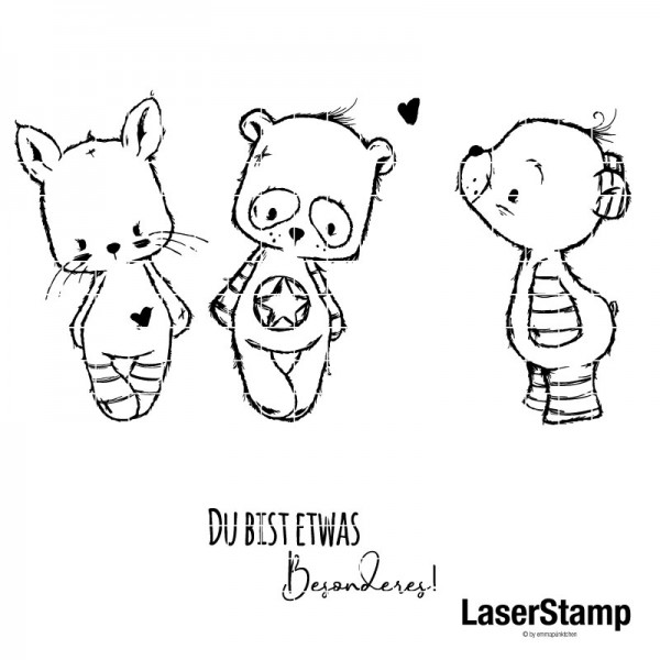 emmapünktchen ® - sketchies LaserStamp