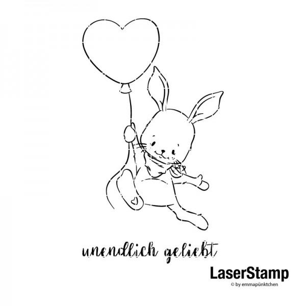 emmapünktchen ® - hase hanna LaserStamp