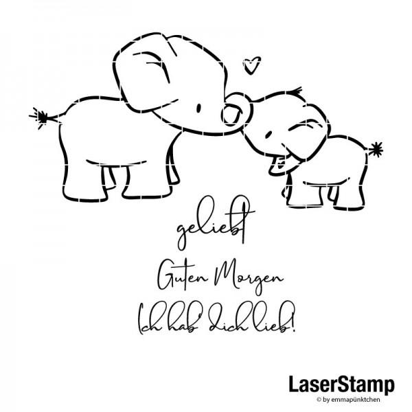 emmapünktchen ® - elefantenbande LaserStamp