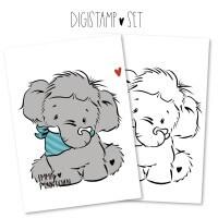 emmapünktchen ® - enno elefant DigiStamp
