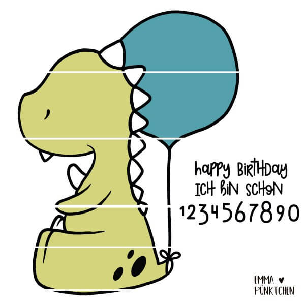 emmapünktchen ® - dino birthday