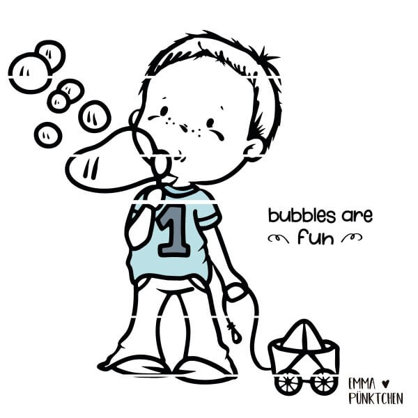 emmapünktchen ® - bubbles are fun boy