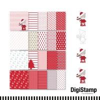 emmapünktchen ® - Weihnachten all over DigiStamp