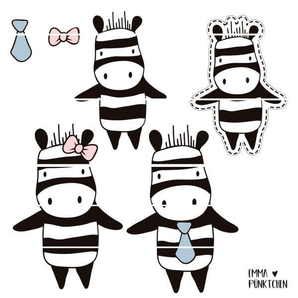 emmapünktchen ® - zebra