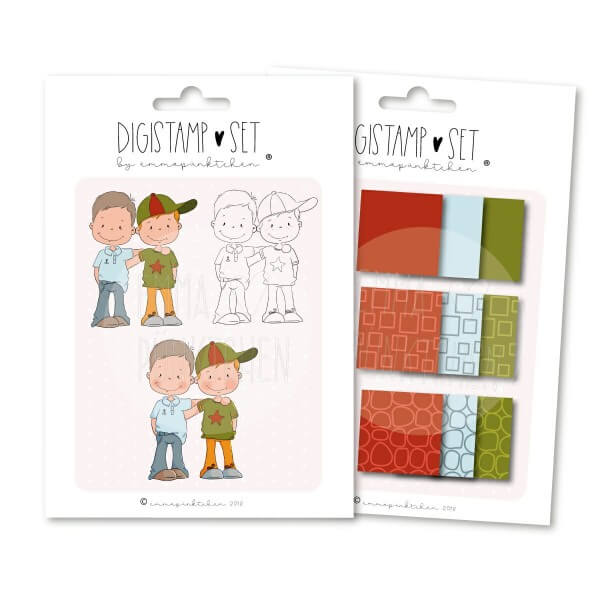 emmapünktchen ® - BFFB DigiStamp-Set