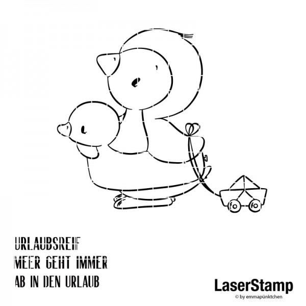 emmapünktchen ® - urlaubsreif LaserStamp