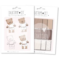 emmapünktchen ® - tommybear DigiStamp Set