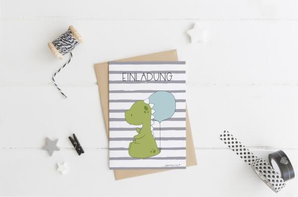 emmapünktchen ® - dino birthday printdesign MEGASET
