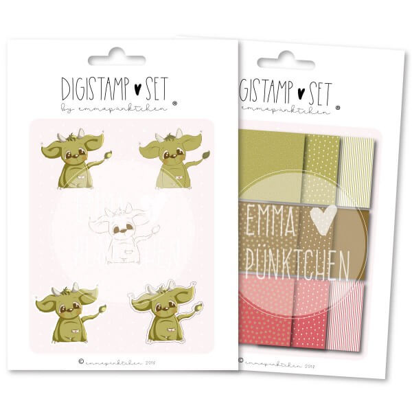 emmapünktchen ® - greenhorn DigiStamp