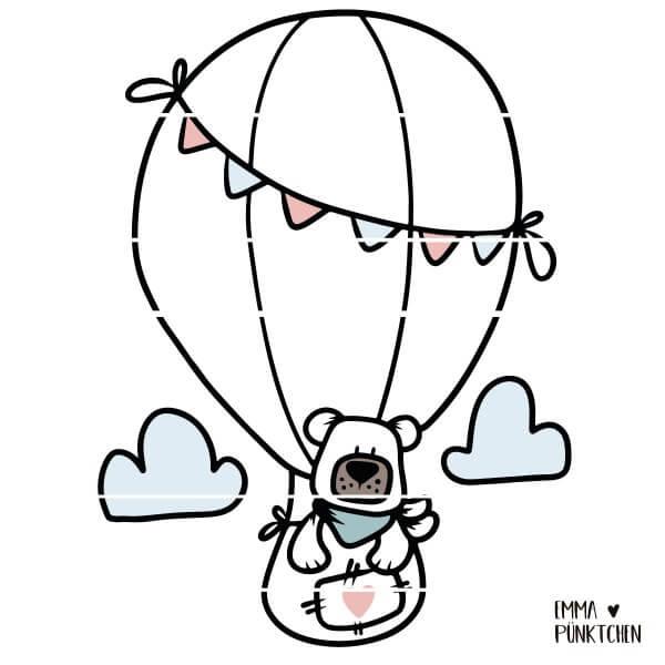 emmapünktchen ® - lukas der ballonfahrer