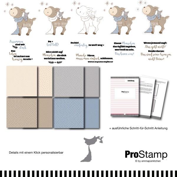 emmapünktchen ® - schneefreunde ProStamp