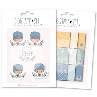 emmapünktchen ® - petit bonjour DigiStamp Set