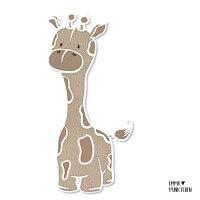 emmapünktchen ® - anton die giraffe applikation