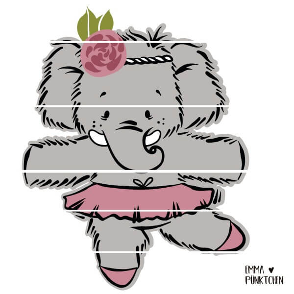 emmapünktchen ® - mathilda mammut