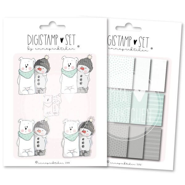 emmapünktchen ® - snowmangang DigiStamp