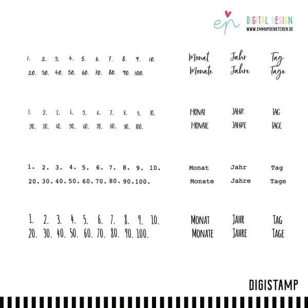 emmapünktchen ® - basic words & doodles